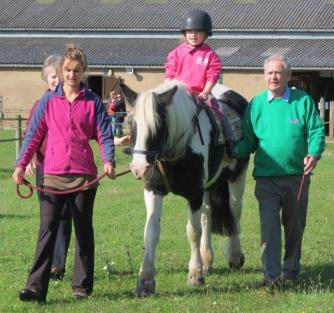 A fun day at the stables - Handy pony